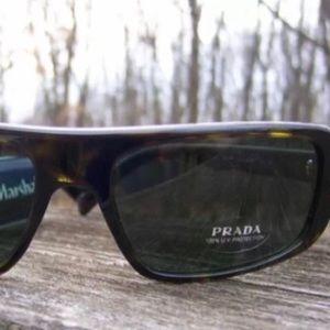 Prada Unisex Sunglasses brown tortoise SPR030